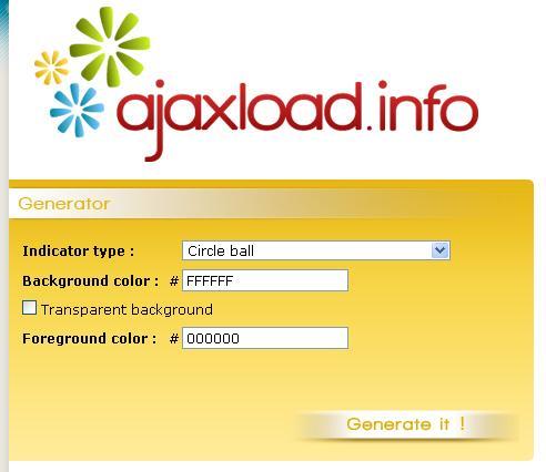 ajax load